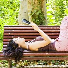 Lesen, bücher, Urlaub, Reisen beginnt im Kopf