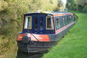 Hausboot, England, Kanal