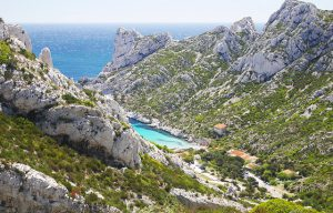 Calanques, Marseille, Bucht von Sormiou