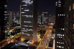 Tokio, Hochhaus, Nacht