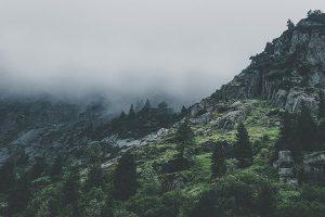 Alpen, Tal, Wolken