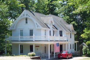 Sommerhaus, Lake Chautauqua, New York, USA