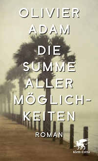 Buchcover, Die Summe aller Möglichkeiten, Olivier Adam, Klett-Cotta