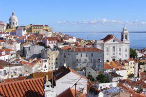 Portugal, Lissabon, Panorama
