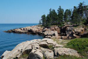 Felsenküste Maine, USA
