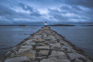 USA, Maine, Küste