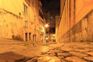 Portugal, Lissabon, Pflaster