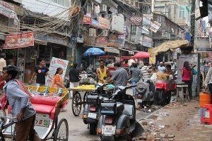 Straßenszene, Neu-Delhi, Indien