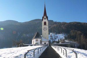 Luttach, Südtirol, Kirche