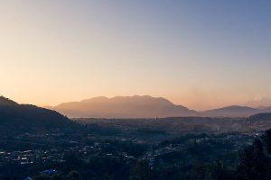 Berglandschaft von Kathmandu