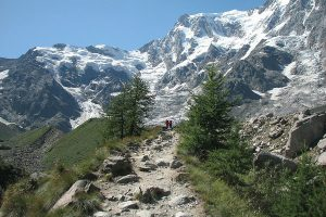 Monte Rosa Massif, Italien