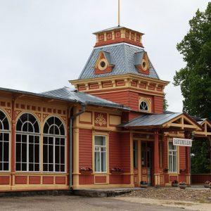 Bahnhof von Haapsalu