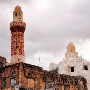 Jemen, Moschee in Dschibla (Jibla), Gournement Ibb