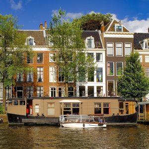 Amsterdam, Hausboot