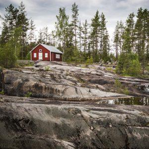 Norwegen, Haus, Schären