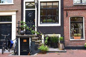 Amsterdam, Hauseingang