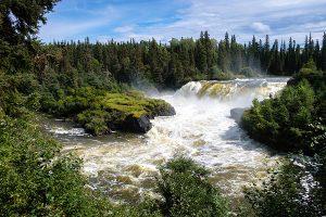 Wasserfälle in Manitoba