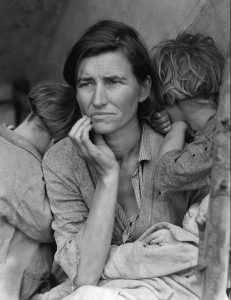 Migrant Mother., 1936 / Dorothea Lange, 1936