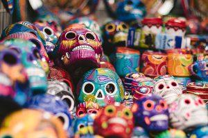 Mexiko, Totenköpfe