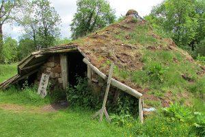 Silvies Familie wohnt in einem Rundhaus