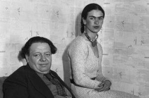 Diego Rivera und Frida Kahlo