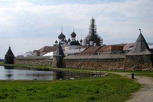 Das Kloster auf den Solowezki-Inseln